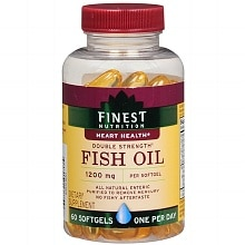 Finest Nutrition Fish Oil 1200 mg Dietary Supplement Softgels 44