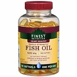 Finest Nutrition Fish Oil 1400 mg Dietary Supplement Softgels