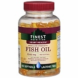 Finest Nutrition Fish Oil 1000 mg Dietary Supplement Softgels 44