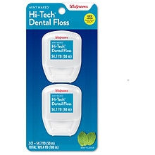 Walgreens Hi-Tech Dental Floss 20