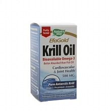 EfaGold Krill Oil 500 mg Dietary Supplement, Softgels