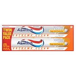 Aquafresh Toothpaste, Extreme Clean Twin Pack
