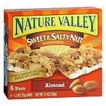 Nature Valley Sweet & Salty Nut Granola Bars 6 Pack