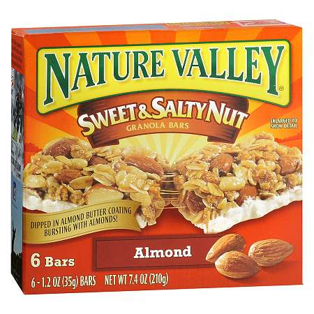 Nature Valley Sweet & Salty Nut Granola Bars 6 pk