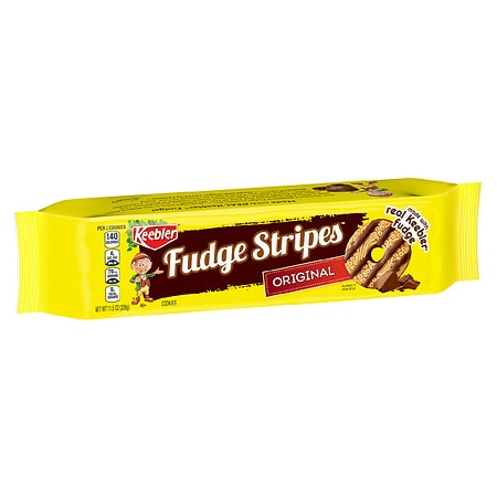 Keebler Fudge Shoppe Fudge Stripes Cookies 34