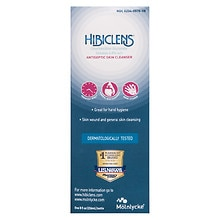 Hibiclens Antiseptic/Antimicrobial Skin Cleanser Liquid