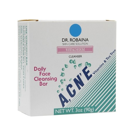 Dr. Robaina Skin Care Solution Vitaderm Daily Face Cleansing Bar
