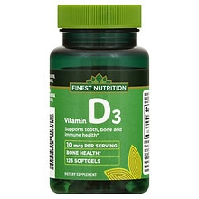 D3 Vitamin 400 IU Dietary Supplement Softgels