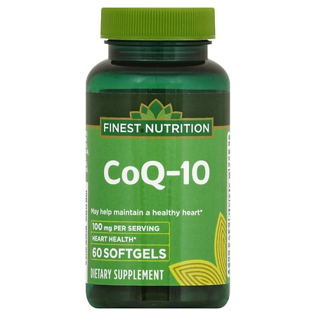 Finest Nutrition Co Q-10 100 mg, Softgels