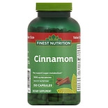 Finest Nutrition Cinnamon 1000 mg per Serving Dietary Supplement Capsules