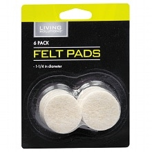 Living Solutions Felt Pads