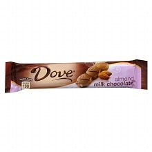 Dove Candy Bar Almond Milk Chocolate