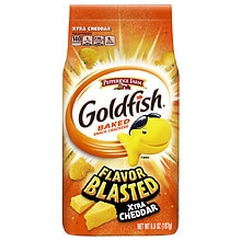 Pepperidge Farm Goldfish Flavor Blasted Baked Snack Crackers Xtra Cheddar