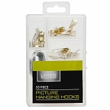 Living Solutions Picture Hanging Hooks Kit