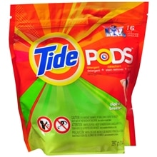 Tide Pods Laundry Detergent Pac Capsules 16 Pack Alpine Breeze