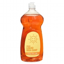 Sunny Smile Liquid Dish Soap Orange