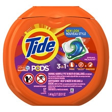 Tide Pods Laundry Detergent Pac Capsules 57 Pack