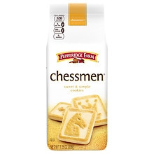 Pepperidge Farm Chessmen Distinctive Cookies