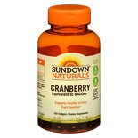 Naturals Super Cranberry plus Vitamin D3 Herbal Supplement Softgels