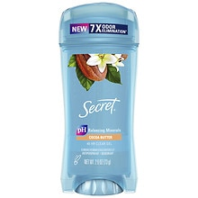 Secret Scent Expressions Antiperspirant & Deodorant Crystal Clear Gel Cocoa Butter Kiss