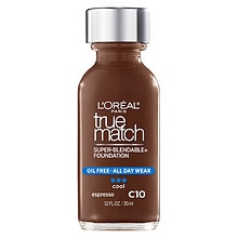 L'Oreal Paris True Match Super-Blendable Liquid Makeup Espresso