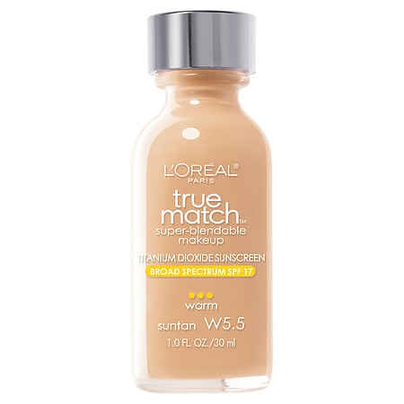 L'Oreal Paris True Match Super-Blendable Liquid Makeup Sun Tan