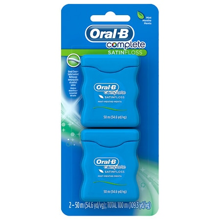 Oral-B Complete Satin Floss 2 pk