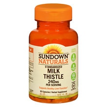 Sundown Naturals Naturals Milk Thistle Xtra 240 mg Per Serving Dietary Supplement Capsules