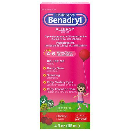 Diphenhydramine Dosage For Infants