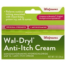 Walgreens Anti-Itch Cream Original Strength