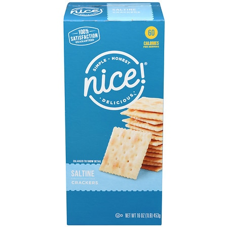 Nice! Saltine Crackers