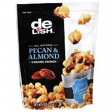 Good & Delish Caramel Crunch Pecan & Almond
