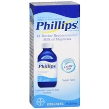 Phillips Genuine Milk of Magnesia Saline Laxative Liquid Original