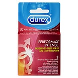Durex Performax Intense Premium Lubricated Latex Condoms