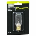 Living Solutions Light Bulb Clear 25 Watt Microwave Oven T8