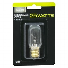 Living Solutions Light Bulb Clear 25 Watt Microwave Oven