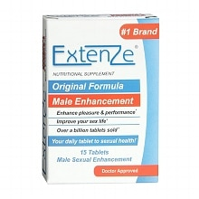 Extenze Original Formula Male Sexual Enhancement Tablets