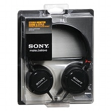 Sony Studio Monitor Sound & Style Stereo Headphones MDR-ZX100