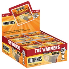 HeatMax HotHands Toe Warmers 40 Pairs