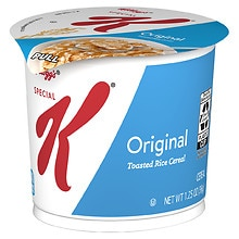 Kellogg's Special K Good Food to Go Lightly Toasted Rice Cereal