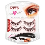 Kiss Eyelashes 10 Black