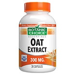 Botanic Choice Oat Extract 300 mg Herbal Supplement Capsules