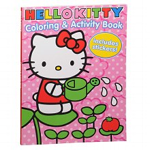 Coloring & Activity Book, Hello Kitty