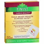 Finest Daily Heart Health Support Dietary Supplement Packets