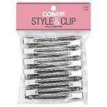 Conair Styling Essentials Styling Clips Silver