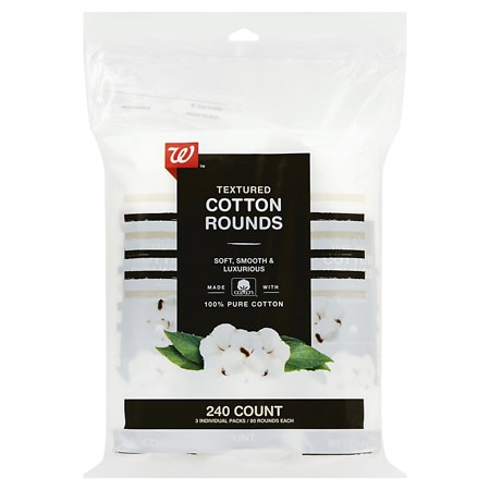 Studio 35 Beauty Textured Cotton Rounds