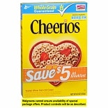 General Mills Cheerios Toasted Whole Grain Oat Cereal