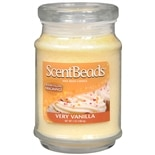 ScentBeads Wax Bead Jar Candle Vanilla Cream