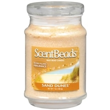 ScentBeads Wax Bead Jar Candle Sand Dunes Cream