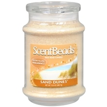 ScentBeads Wax Bead Jar Candle Sand Dunes Tan